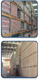 Warehouse. Warehousing services and public warehousing with warehousing services. Trucks and trucking from Teamsters Logistics with high security self storage warehousing.